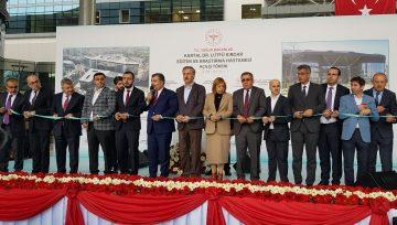 ISMEP Kapsamında Depreme Karşı Yeniden Yapılan, İstanbul'un En Büyük Hastanesi Kartal Dr. Lütfi Kırdar Eğitim ve Araştırma Hastanesi Sağlık Bakanı Dr. Fahrettin Koca'nın Teşrifleriyle Açıldı.
