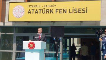 2019-2020 Eğitim-Öğretim Yılının Açılışı ISMEP Projesi Kapsamında Depreme Karşı Yeniden Yapılan Kadıköy Atatürk Fen Lisesi'nde  Cumhurbaşkanımız  Sayın Recep Tayyip Erdoğan'ın Teşrifleriyle Yapıldı