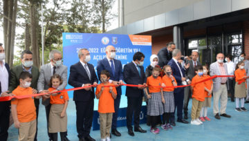 Üsküdar Küplüce Cahit Zarifoğlu İlkokulu'nun Açılışı Yapıldı.